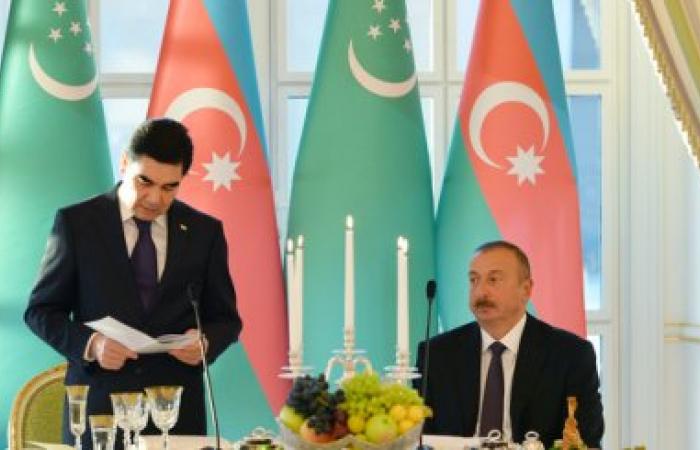 "Azerbaijan and Turkmenistan want to turn the Caspian Sea ""into a broad arena of international partnership"""