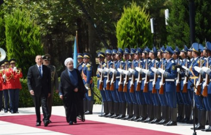 President Rohani of Iran has arrived in Azerbaijan where tomorrow he will participate in trilateral meetings with the Presidents of Russia and Azerbaijan which are likely to focus on economic and security issues. (More on our live blog)