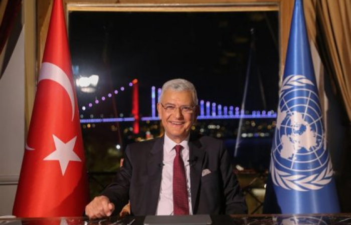 New Turkish president of UN General Assembly