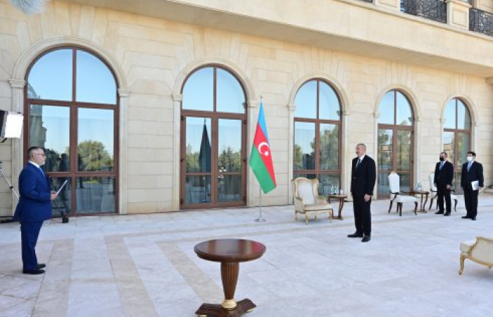 Azerbaijan pledges support to Turkey in dispute with Greece over Aegean