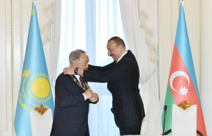 Azerbaijan and Kazakhstan agree to boost ties and trade