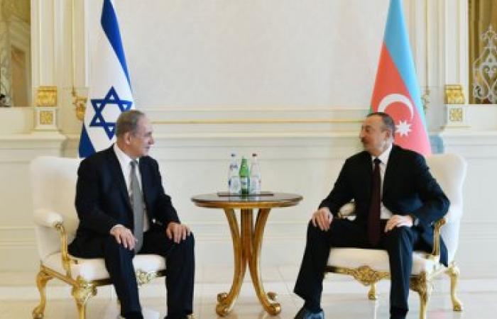 Israeli prime minister Netanyahu visits Baku