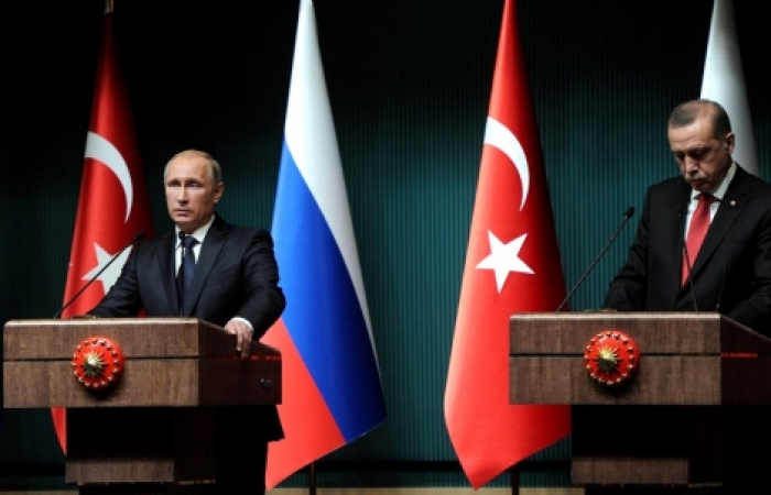 Efforts to improve Russia-Turkey relations, as alleged killer of pilot arrested
