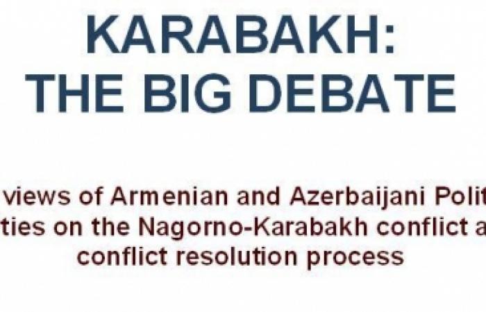 Karabakh: the big debate.
