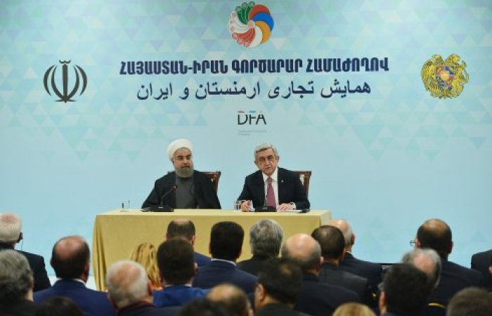 Armenia and Iran plan new transit and transport corridor connecting the Gulf to the Black Sea
