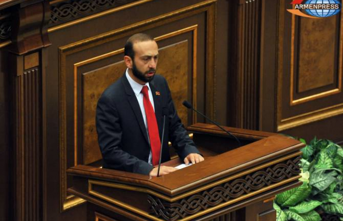 Ararat Mirzoyan elected as Speaker of the new Armenian parliament